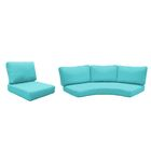 Fairmont 10 Piece Outdoor�Lounge Chair Cushion Set Fabric: Aruba