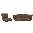 Fairmont 10 Piece Outdoor�Lounge Chair Cushion Set Fabric: Cocoa