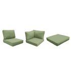 Fairmont Outdoor 23 Piece Lounge Chair Cushion Set Fabric: Cilantro