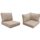 Coast 22 Piece Outdoor�Lounge Chair Cushion Set Fabric: White