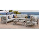 Carlisle 8 Piece Outdoor Sectional Set with Cushions Cushion Color: Beige