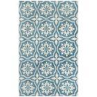 Microplush Blue Area Rug Rug Size: 8' x 10'