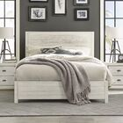 Montauk Panel Bed Size: King, Color: Rustic Off-White