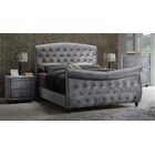 Grant Upholstered Sleigh Bed Size: King