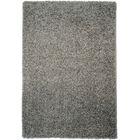 Burns Single Solid Grey Shag Area Rug Rug Size: Rectangle 5' x 7'