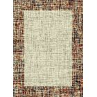 Marana Anti-Bacterial Cream/Brown Indoor/Outdoor Area Rug Rug Size: 5' x 7'