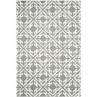 Lima Gray/Ivory Area Rug Rug Size: Rectangle 4' x 6'