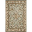 Heritage Tufted Wool Light Blue/Ivory Area Rug Rug Size: Rectangle 6' x 9'