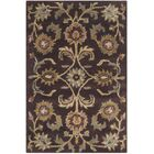 Heritage Tufted Wool Brown/Gold Area Rug Rug Size: Runner 2'3