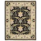 Kewanee Hand-Woven Black Area Rug Rug Size: Rectangle 9'9