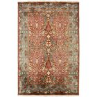 Pritchard Hand Knotted Pink/Gray Area Rug Rug Size: Rectangle 5' x 8'