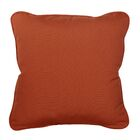 Basilia Outdoor Sunbrella Throw Pillow Size: 20