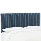 Mcdougall Upholstered Panel Headboard Size: Full, Upholstery: Fritz Indigo