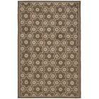 Puzzle Molasses Brown Area Rug Rug Size: Rectangle 5'6