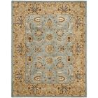 Cardwell Hand-Tufted Blue/Beige Area Rug Rug Size: Rectangle 4' x 6'