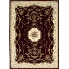 Sherley Burgundy Area Rug Rug Size: Rectangle 7'10