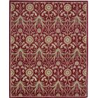 Carthage Hand-Tufted Red Area Rug Rug Size: Rectangle 8' x 10'