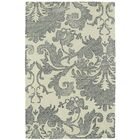 Rosalind Hand-Tufted Wool Beige/Gray Area Rug Rug Size: Rectangle 8' x 10'
