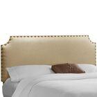 Adelia Upholstered Panel Headboard Size: King, Upholstery: Sandstone