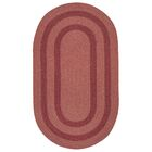 Westfield Red Area Rug Rug Size: Oval 2' x 10'