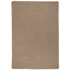 Oakland Hand-Woven Brown Indoor/Outdoor Area Rug Rug Size: 6' x 9'
