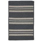Neponset Hand-Woven Gray Indoor/Outdoor Area Rug Rug Size: Runner 2' x 7'