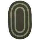 Westfield Hand-Woven Green Area Rug Rug Size: Oval Runner 2' x 6'