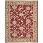 Cullen Hand-Woven Red Area Rug Rug Size: Rectangle 5'10