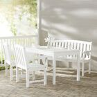 Mahler 4 Piece Dining Set