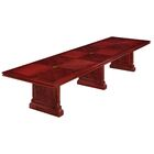 Prestbury Expandable Rectangular Conference Table Size: 14' L