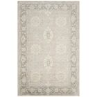 Lakemoore Hand-Knotted Gray/Mauve Area Rug Rug Size: Rectangle 6' x 9'