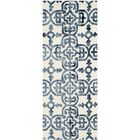 Naples Park Hand-Tufted Ivory/Navy Area Rug Rug Size: Runner 2'3