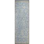Danforth Hand-Tufted Light Blue Area Rug Rug Size: Runner 2'6