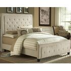 Bettyann California king Upholstered Panel Bed Color: Buckwheat