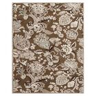 Castleford Coffee/Gray Area Rug Rug Size: Rectangle 5'3