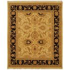 Linwood Gold/Black Area Rug Rug Size: Rectangle 6' x 9'