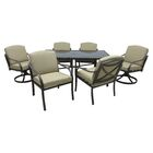 Besser 7 Piece Dining Set with Cushions