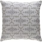 Shaffer Cotton Throw Pillow Color: Gray, Size: 22