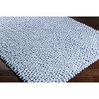 Cosima Hand-Crafted Blue Area Rug Rug Size: Rectangle 8' x 10'