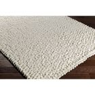 Cosima Hand-Crafted Neutral Area Rug Rug Size: Rectangle 8' x 10'