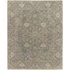 Shyla Hand-Knotted Grey/Neutral Area Rug Rug Size: 10' x 14'