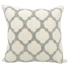 Ravenna Chambray Throw Pillow