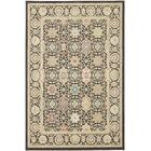 Lakemont Machine woven Black Area Rug Rug Size: Rectangle 5'3