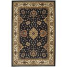Brookes Black Area Rug Rug Size: Rectangle 8' x 11'