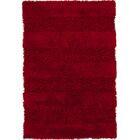Winfrey Red Area Rug Rug Size: 5' x 7'6