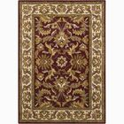 Bartz Red/Tan Sarouk Area Rug Rug Size: 7' x 10'