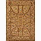 Bartz Brown/Tan Area Rug Rug Size: Rectangle 5' x 7'6