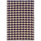 Destinee Hand-Tufted Purple/Natural Area Rug Rug Size: Rectangle 5' x 8'