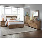 Loughran Upholstered Panel Headboard Size: Queen, Color: Dune