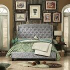 Leatham Queen Upholstered Panel Bed
